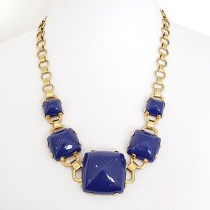 Marc by Marc Jacobs Statement Necklace Blue